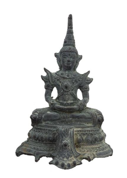 Figurine statuette Kuman Thong magie noire Thaï Thaïlande bouddhisme laiton